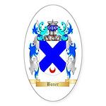 Boner Sticker (Oval 50 pk)