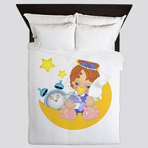 Sleepy Little Angel Queen Duvet