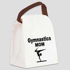 Gymnastics Mom Canvas Lunch Bag