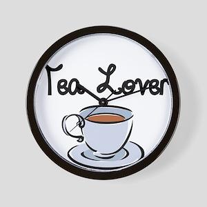 Tea Lover Wall Clock