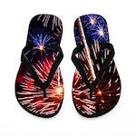 Fabulous Fireworks Flip Flops