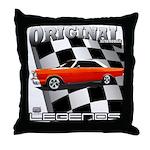 Original Musclecar 1966 Throw Pillow