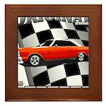 Original Musclecar 1966 Framed Tile