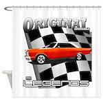 Original Musclecar 1966 Shower Curtain