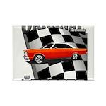Original Musclecar 1966 Rectangle Magnet (10 pack)
