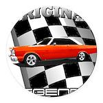 Original Musclecar 1966 Round Car Magnet