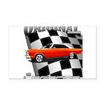 Original Musclecar 1966 Rectangle Car Magnet