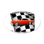 Original Musclecar 1966 Oval Car Magnet