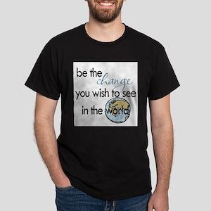 Be the change2 Dark T-Shirt