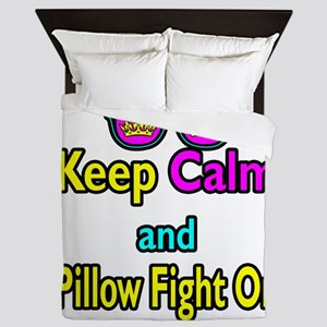 Crown Sunglasses Keep Calm And Pillow Fight On Que