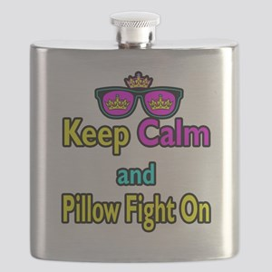 Crown Sunglasses Keep Calm And Pillow Fight On Fla