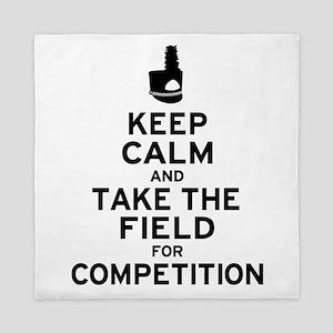 Keep Calm & Take the Field Queen Duvet