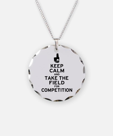 Keep Calm & Take the Field Necklace