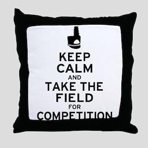 Keep Calm & Take the Field Throw Pillow