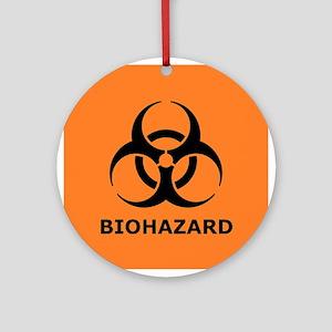 biohazard Ornament (Round)