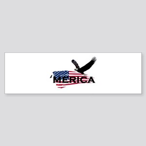Merican Bumper Sticker