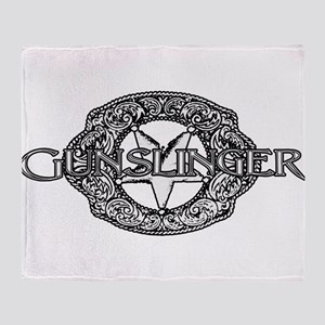 Gunslinger 1 Throw Blanket