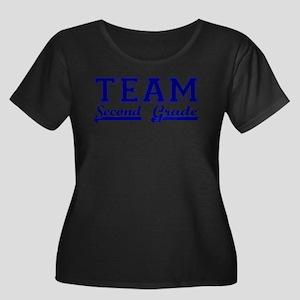 Team Second Grade Plus Size T-Shirt