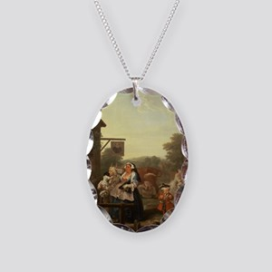 ng, 1736 - Necklace Oval Charm