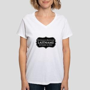 Personalized Wedding Namepla T-Shirt