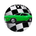 Musclecar 1970 Top 100 Ornament (Round)