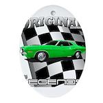 Musclecar 1970 Top 100 Ornament (Oval)