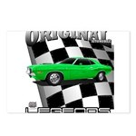 Musclecar 1970 Top 100 Postcards (Package of 8)