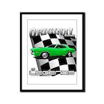 Musclecar 1970 Top 100 Framed Panel Print