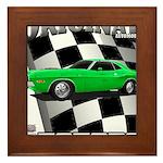 Musclecar 1970 Top 100 Framed Tile