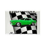 Musclecar 1970 Top 100 Rectangle Magnet