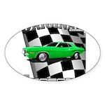 Musclecar 1970 Top 100 Sticker