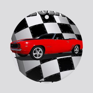Musclecar 1969 Top 100 Ornament (Round)