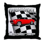 Musclecar 1969 Top 100 Throw Pillow