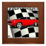 Musclecar 1969 Top 100 Framed Tile