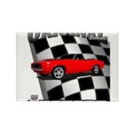 Musclecar 1969 Top 100 Rectangle Magnet (10 pack)