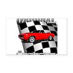 Musclecar 1969 Top 100 Rectangle Car Magnet