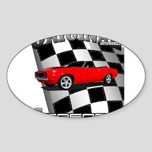 Musclecar 1969 Top 100 Sticker