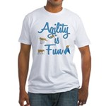 Agility is Fun Fitted T-Shirt