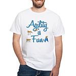 Agility is Fun White T-Shirt