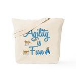Agility is Fun Tote Bag