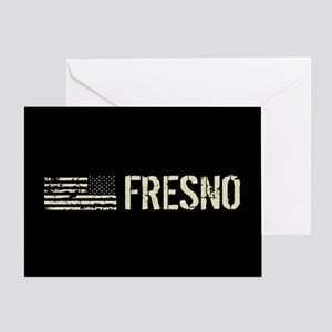 Black Flag: Fresno Greeting Card