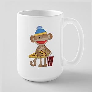 Sock Monkey snack time Mugs