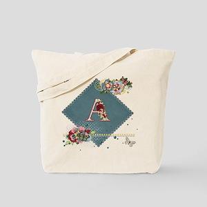 Dreamland Monogram A Tote Bag