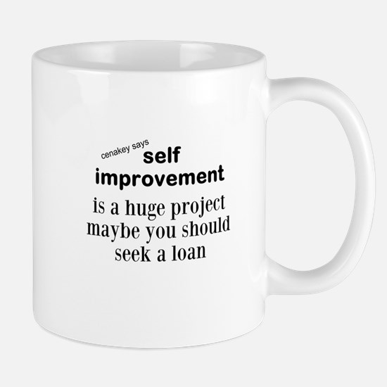 self improvement Mugs