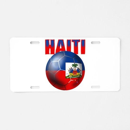 Haitian Football Aluminum License Plate