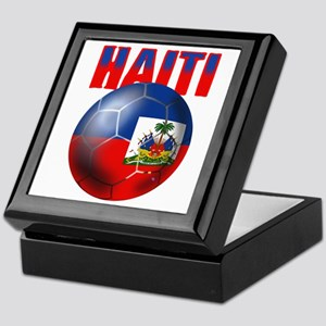 Haitian Football Keepsake Box