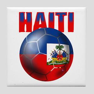 Haitian Football Tile Coaster