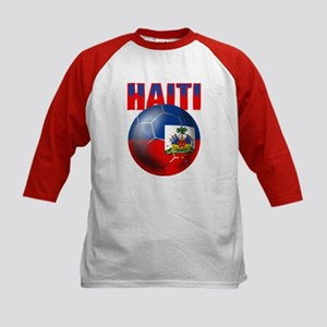 Haitian Football Kids Baseball Jersey