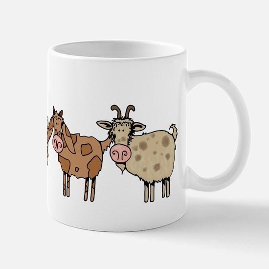 goat parade Mug