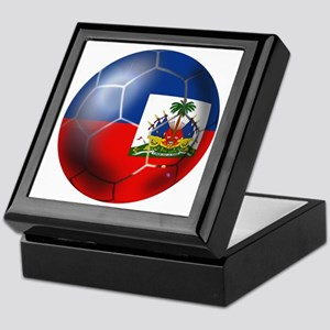 Haiti Soccer Ball Keepsake Box